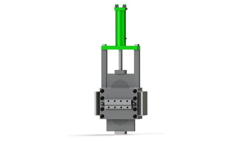 مغير شاشة جلبة الصلب الهيدروليكية