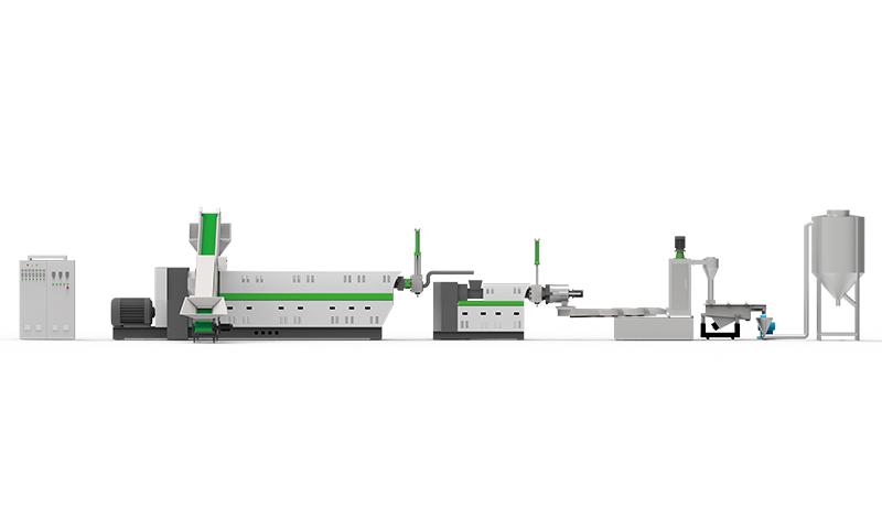 LDK PE Water Ring Hot Cutting Granulator